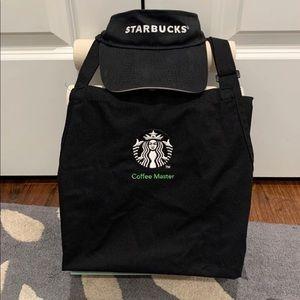 Starbucks Coffee Master Apron+Visor Set